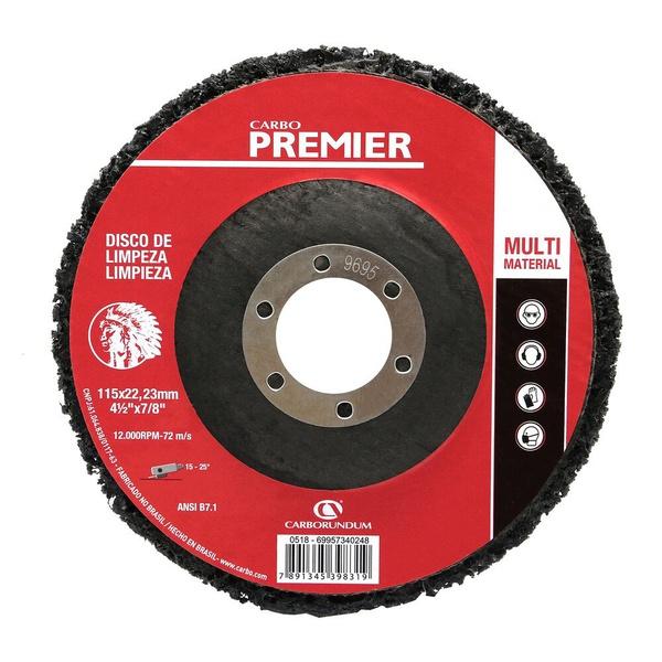 Disco de Limpeza Carbo Premier 115 x 22,23
