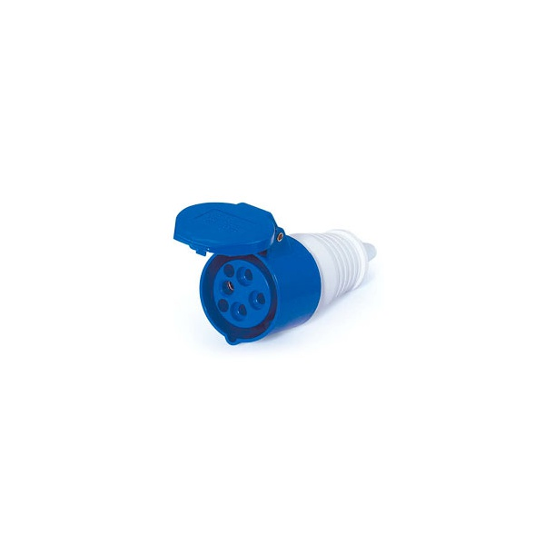 Acoplamento Lukma 3P+T 16A 220-240V 9H Azul