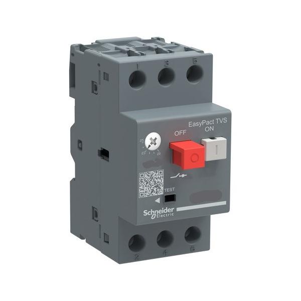 Disjuntor Motor Schneider Tripolar 2,5A a 4A GZ1E08