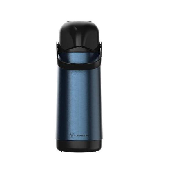 Garrafa Térmica Termolar Inox Azul Royal 1 Litro Lumina 57015