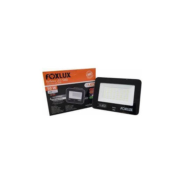 Refletor Led 50w Foxlux 6500k Biv 38.22