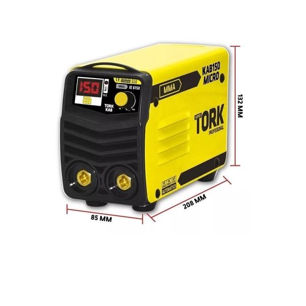 Máquina De Solda Inversora IETP-9180 3X1 180a Tork 220v