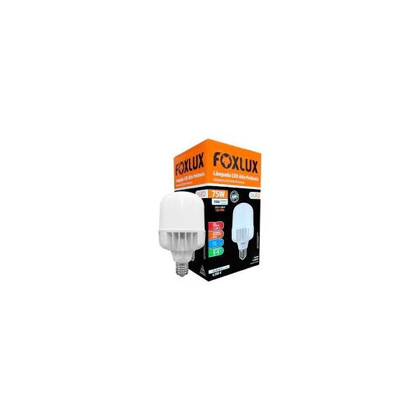 Lâmpada Led Alta Potência 75w 6500k Bivolt Foxlux 9091