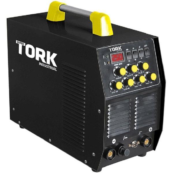 Máquina De Solda Inversora 250A Tig/Eletrodo AC-DC Pulsada - ITE-10250 - Tork