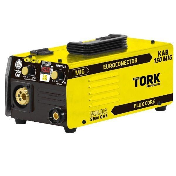 Máquina De Solda Inversora KAB150 220v IM-6150 MIG Super Tork Euroconector