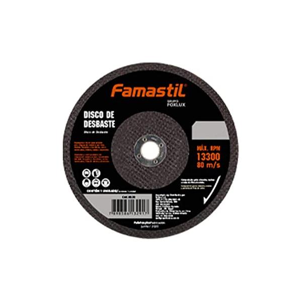 "Disco de Desbaste Famastil 4 1/2"" x 4,8 x 22,2MM"