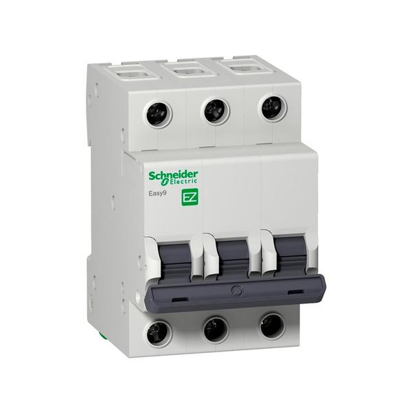 Disjuntor Mini Tripolar 25a 400VCA C 3ka EZ9F33325 - SCHNEIDER