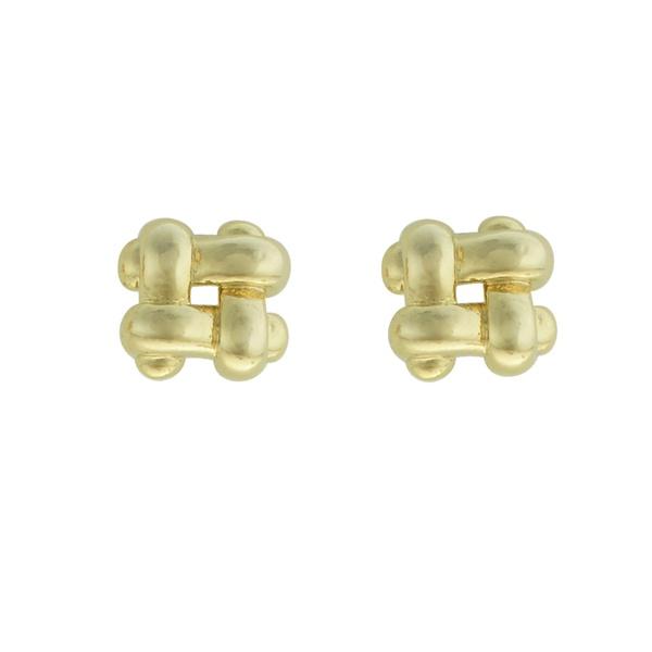 Brinco Metal Lesprit 65015 Dourado
