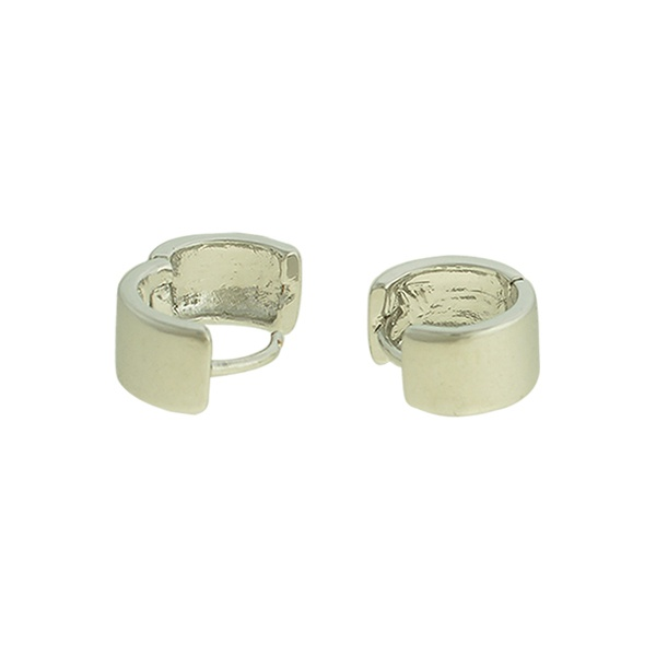 Brinco Argola Metal Lesprit U12A180141 Ródio