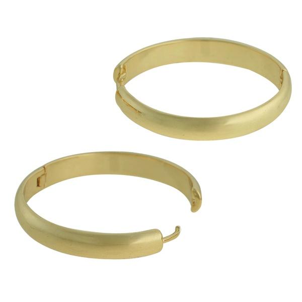 Brinco Argola Metal Lesprit U13A060491 Dourado