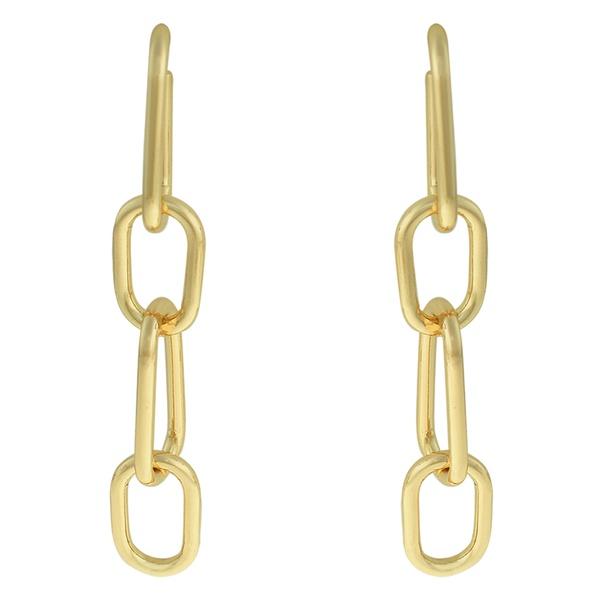 Brinco Elos Metal Lesprit 68115891 Dourado