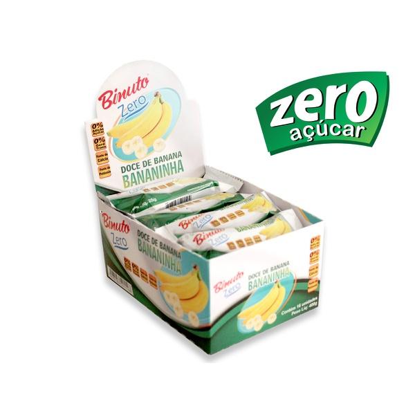 Bananinha sem Açúcar Diet Kit com 2 Caixas com 16 unidades cada