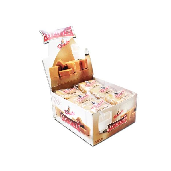 Doce de leite caixa com 18 unidades