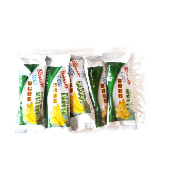 Doce Bananinha sem Açúcar Diet pacote com 5 unidades