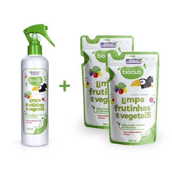 Combinho Limpa Frutinhas e Vegetais
