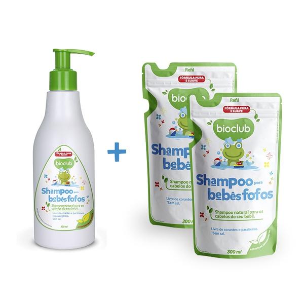 Combinho Shampoo para Bebês Fofos