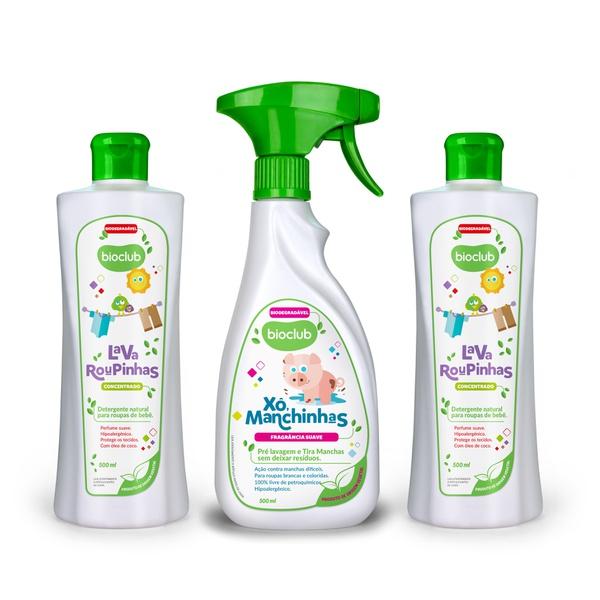 Kit Cuidado de Mãe Bioclub - Detergente e Tira manchas