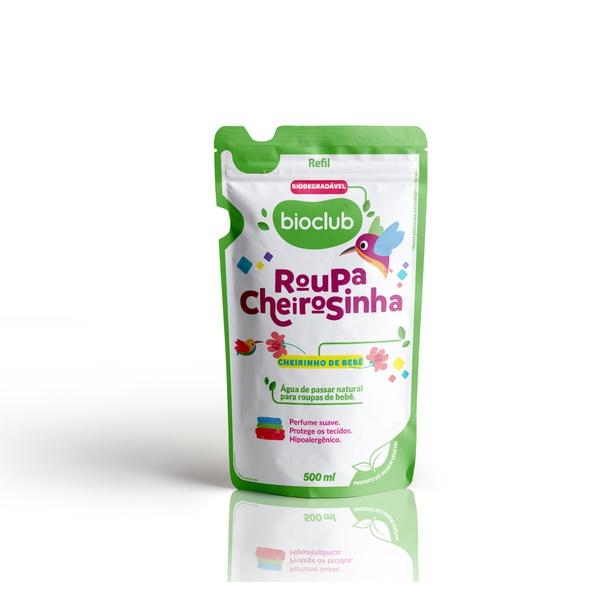 Sachê Roupa Cheirosinha Cheirinho de Bebê Bioclub 500ml