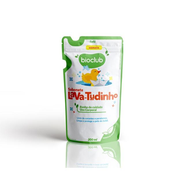 Sachê Sabonete Lava Tudinho Bioclub 300ml