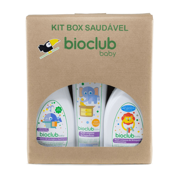 KIT BOX LIMPEZA BIOCLUB®