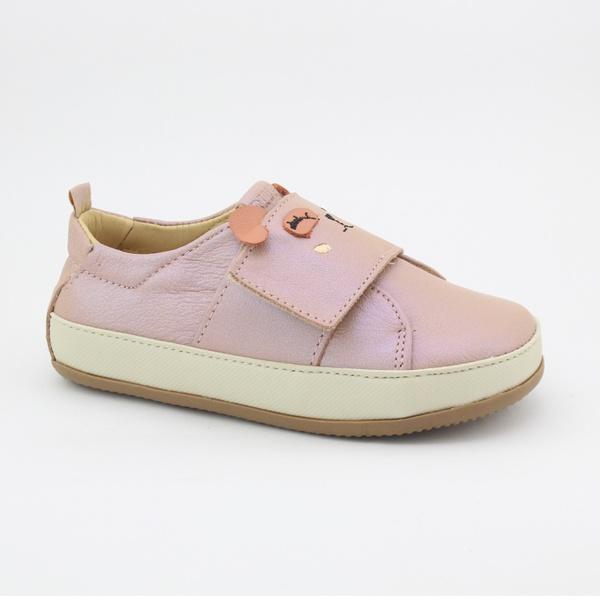 Tênis Velcro Infantil Feminino Daniela - Furta cor/ Coral