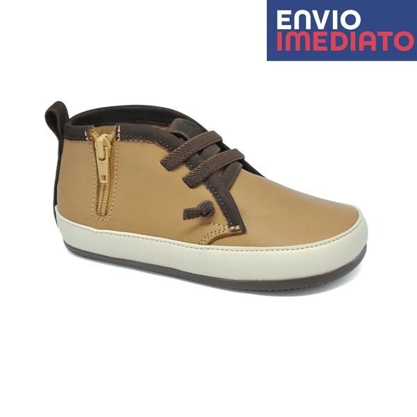 Bota Infantil Masculino Tito - Cappuccino/ Camel