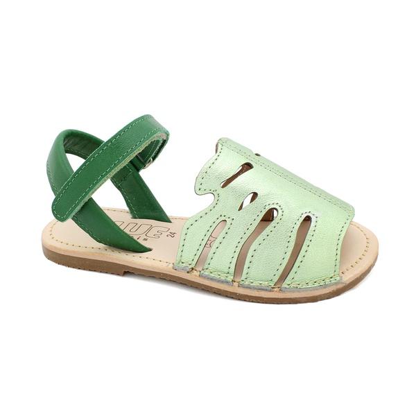 Sandália Infantil Feminino Eva - Verde Acqua/ Verde