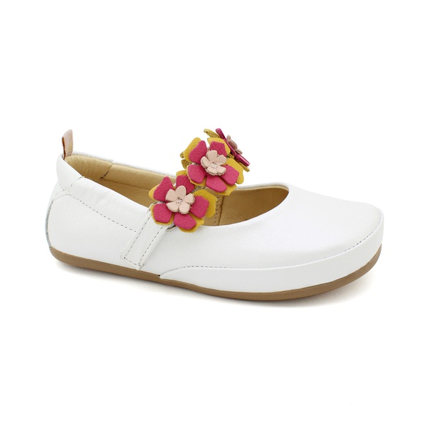 Sapatilha Infantil Feminina Florinda - Perolado Branco