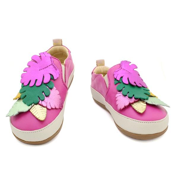 Tênis Slip On Infantil Feminino Blenda - Pink