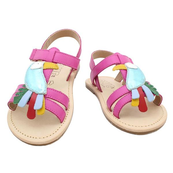 Sandália Infantil Feminino Dandara - Pink