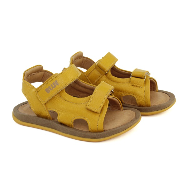 Sandália Infantil Masculina Ícaro - Amarelo