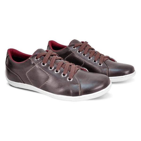 Sapato Casual de Couro BM BRASIL 770/03 Café