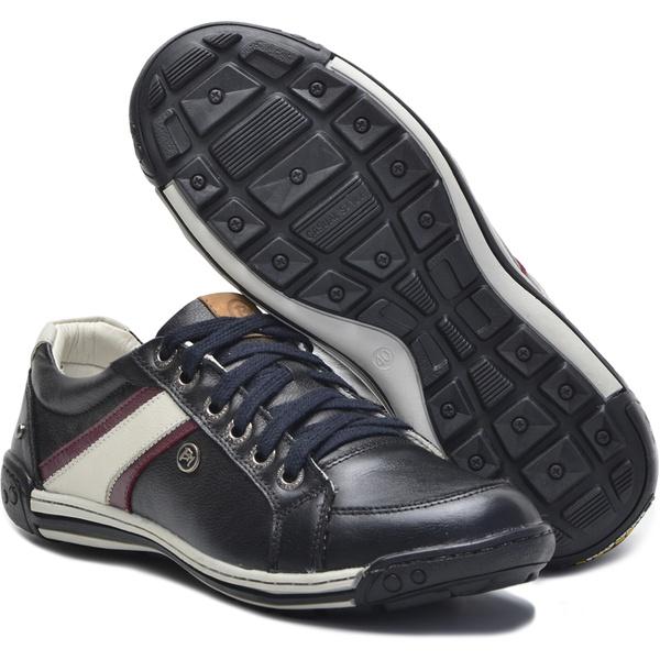 Sapato Masculino Casual Porshe Aportar 410/02 Preto