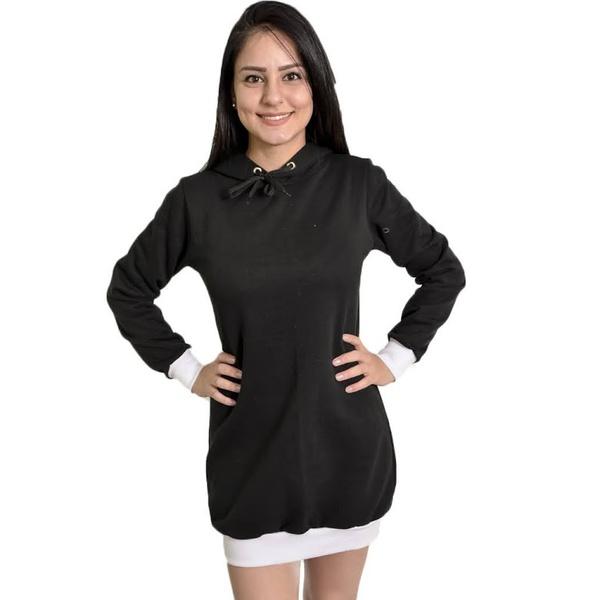 Moletom Liso Masculino E Feminino Blusa De Frio Canguru