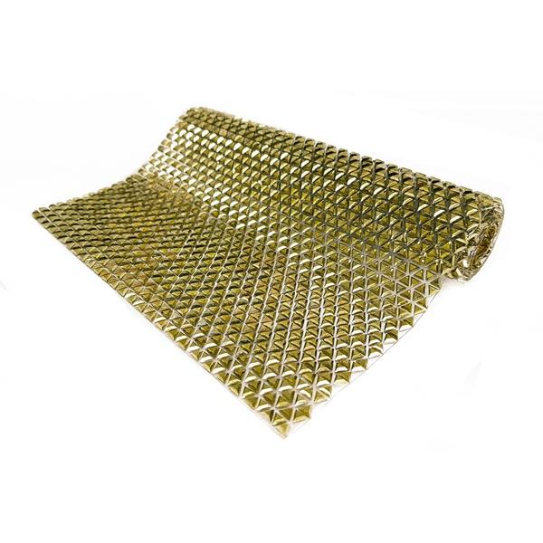 Manta de Strass Dourado - Army.