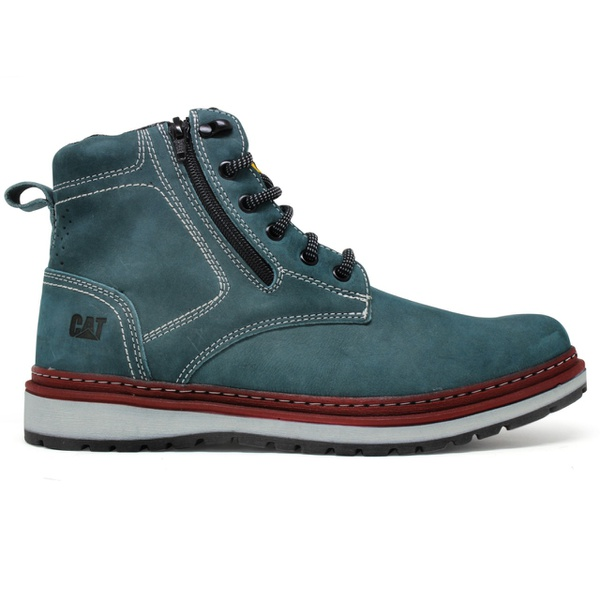 Bota Zip One - Cinza