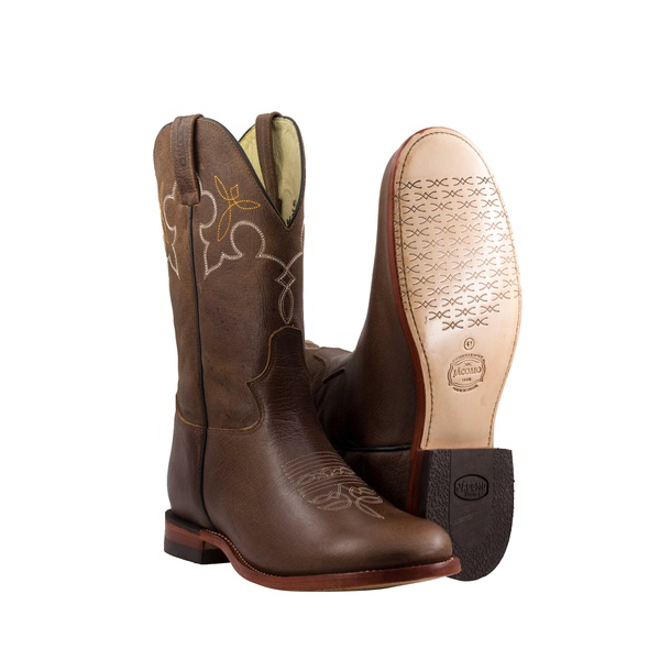 Bota Texana Premium Masculina Mangalarga Buf Saar