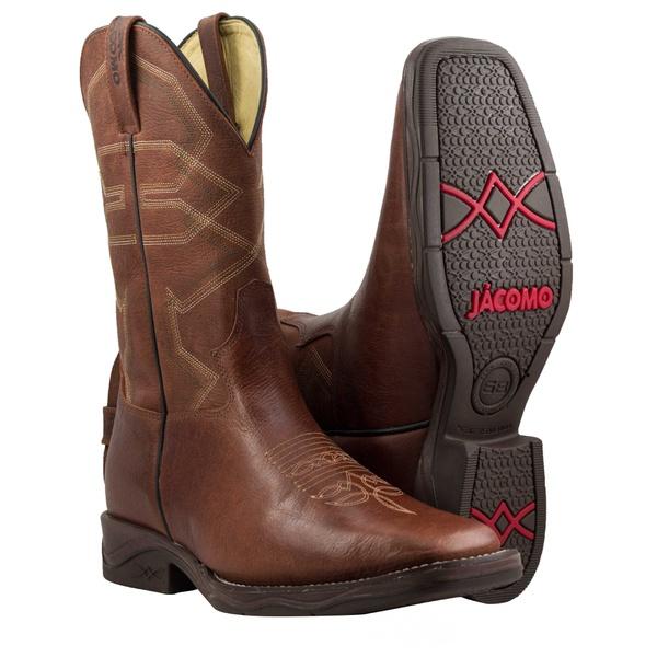 Bota Texana Premium Masculina Mangalarga Fóssil Buf Sella