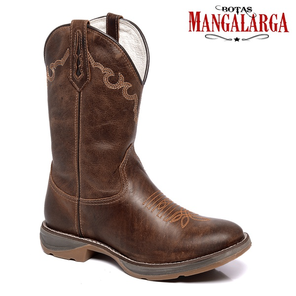 Bota Texana Mangalarga