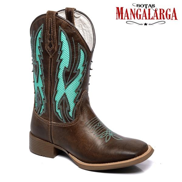 Bota Texana Masculina Mangalarga McAllen Brown