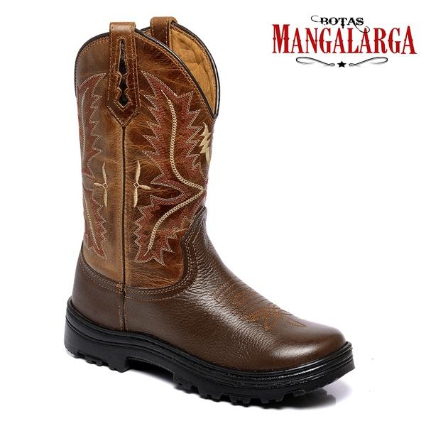 Bota Texana Masculina Mangalarga Adventure