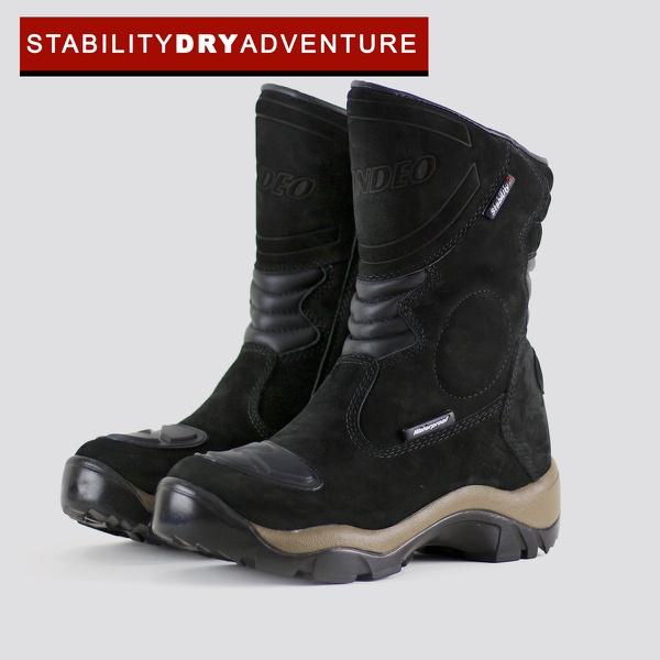 Stability Dry Adventure Preto - 100% IMPERMEÁVEL