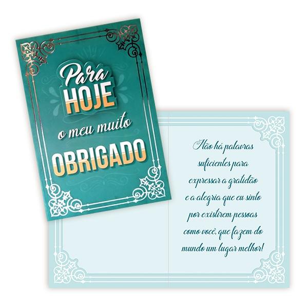 Cartão Para Hoje