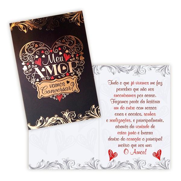 Cartão Vamos Conversar