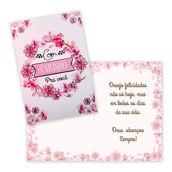 Cartão com carinho