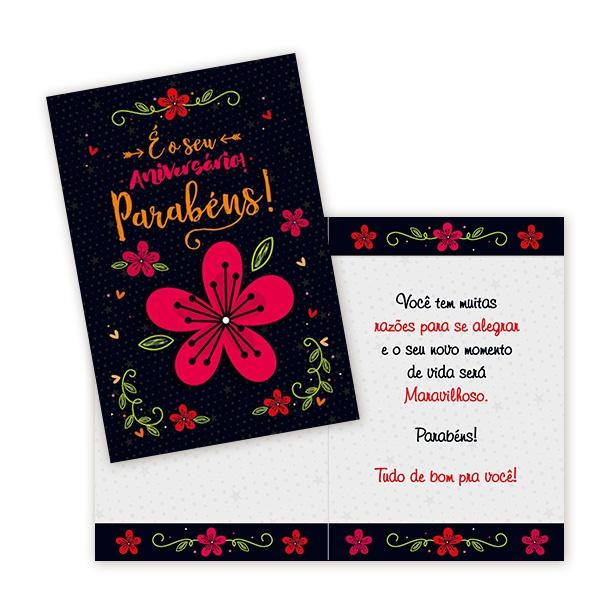 Cartão é o seu aniversário!