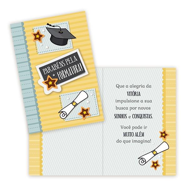 Cartão Formatura