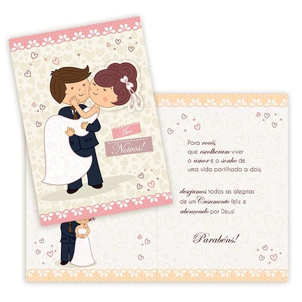 Cartão Aos Noivos