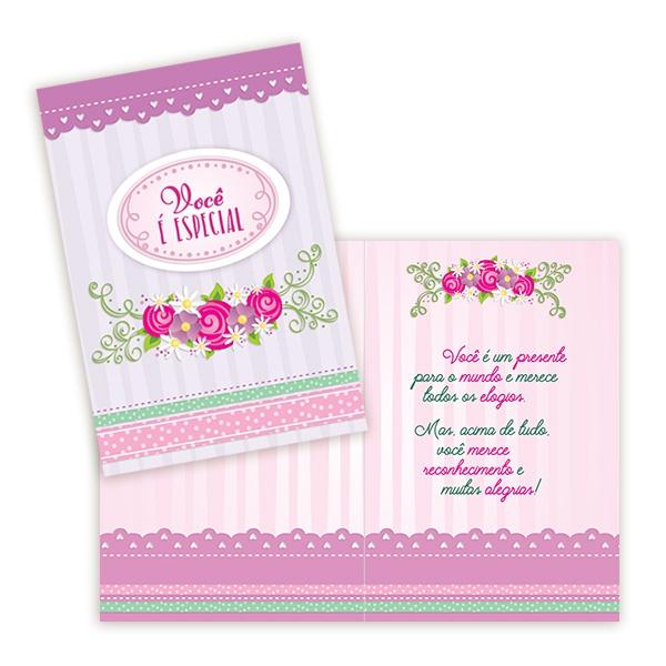 Cartão Vc é um presente...