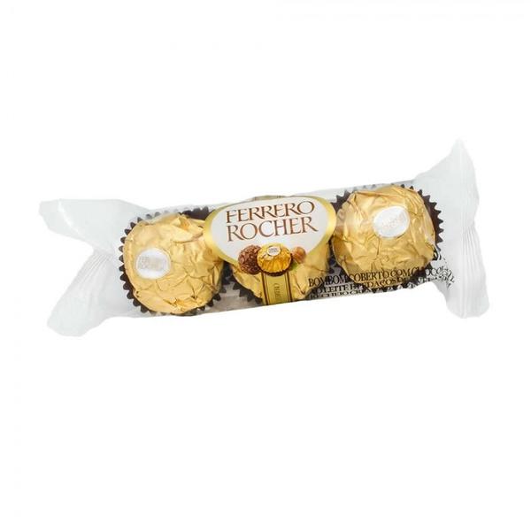 Ferrero com 3 unidades